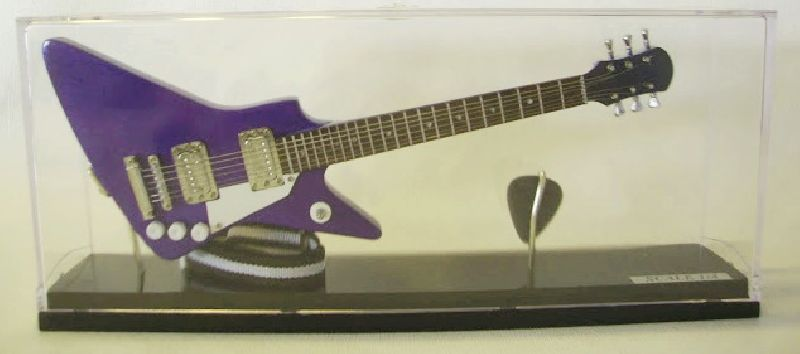 Mini Guitarra Explorer (cristal)