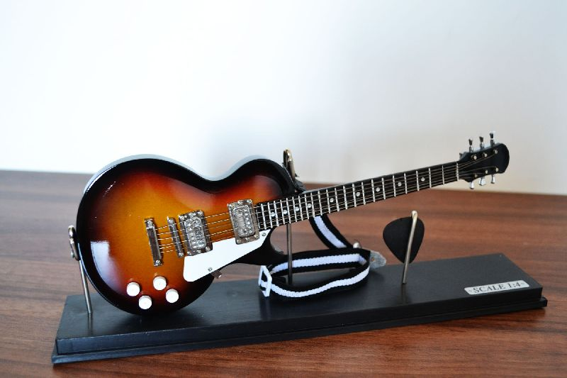 Mini Guitarra Les Paul (cristal)