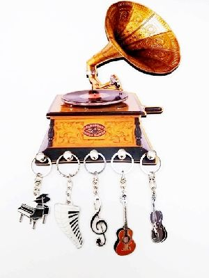 Porta Chaves madeira Gramophone